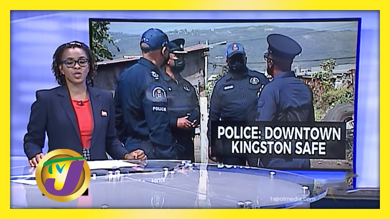 Jamaica's Police Commissioner Assures Downtown Market Safe - February 5 2021 1