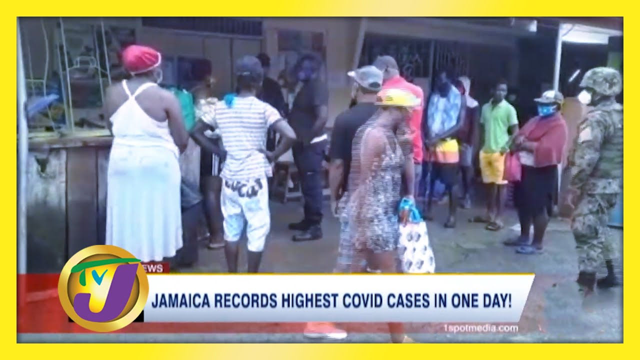 Jamaica Records Highest Covid Cases in 1 Day! - February 5 2021 1