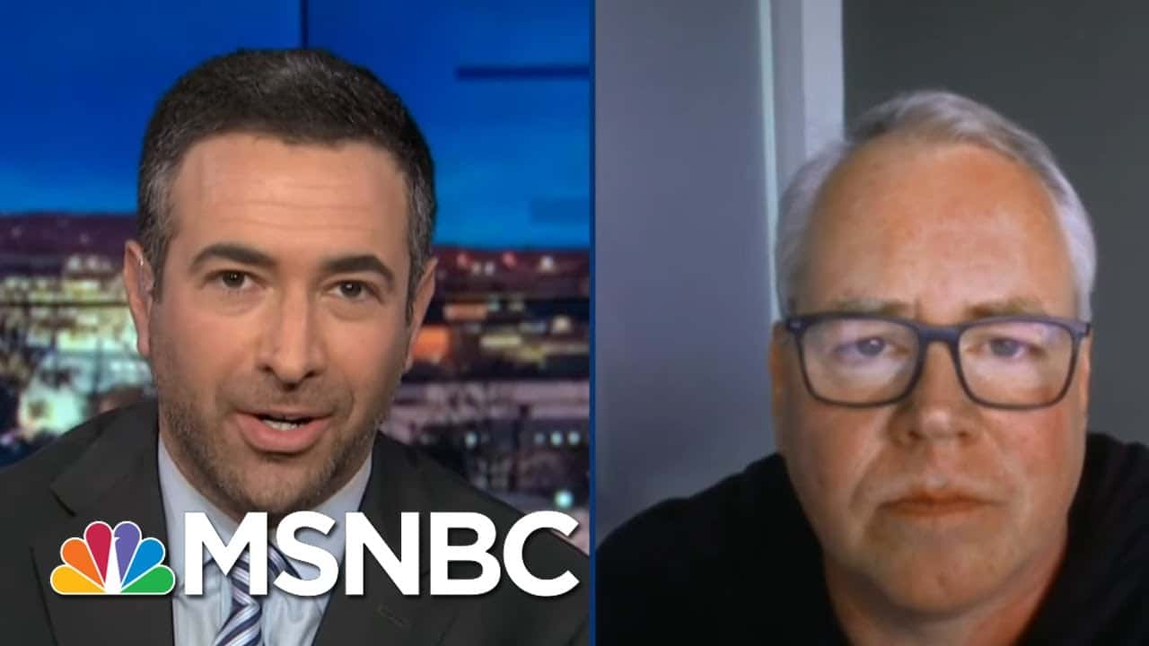 'Psycho': Author Of The Book That Predicted Trump's America Speaks Out | The Beat With Ari Melber 1