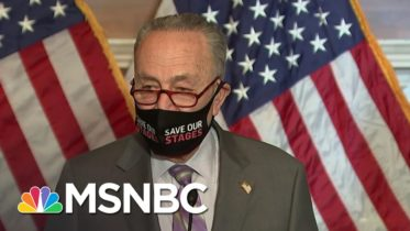 Schumer Assures Senate Can Run Impeachment Trial And Pass Covid Relief | MSNBC 6