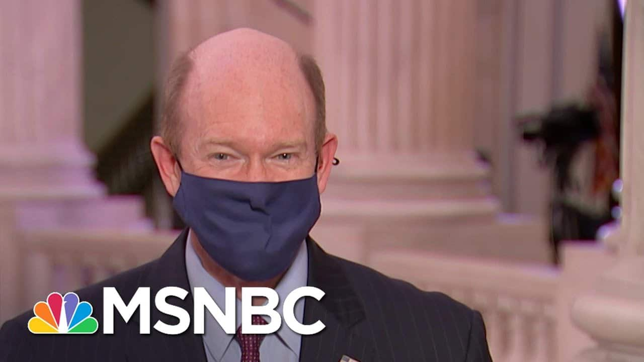 Sen. Coons Calls Trump Defense The 'Four Seasons Landscaping Of The Legal Profession'   The ReidOut 1