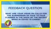 TVJ News: Feedback Question - February 8 2021 3
