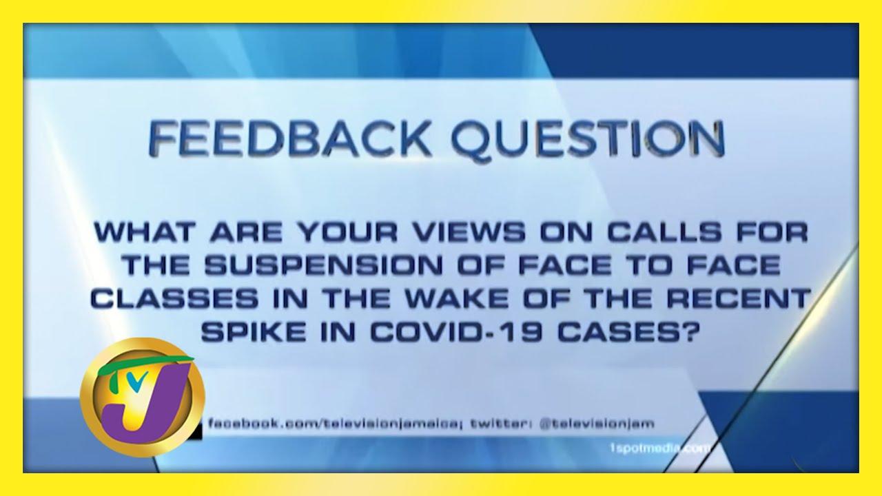 TVJ News: Feedback Question - February 8 2021 1