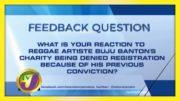 TVJ News: Feedback Question - January 29 2021 2