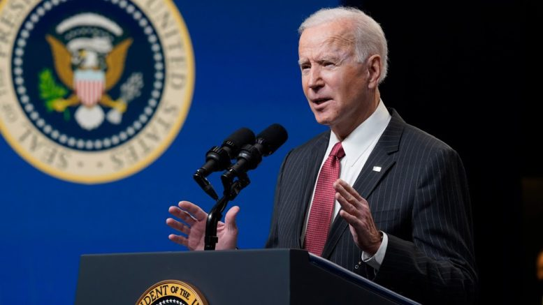 U.S. President Joe Biden announces 'consequences' for the leaders behind coup in Myanmar 1