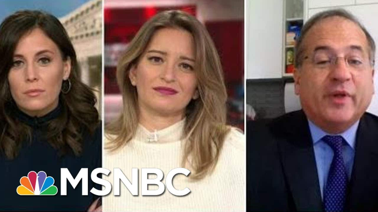 Stephanie Ruhle, Hallie Jackson & Katy Tur Press Former Trump Impeachment Lawyer | MTP Daily | MSNBC 1