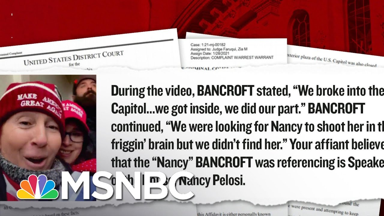 A Closer Look At Several Rioters Used As Evidence In The Case Against Trump | MSNBC 2
