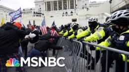 Evidence Shows Police Dealt With Fear And Chaos During Capitol Riot   MSNBC 9