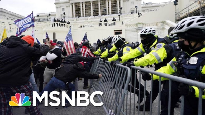 Evidence Shows Police Dealt With Fear And Chaos During Capitol Riot | MSNBC 1