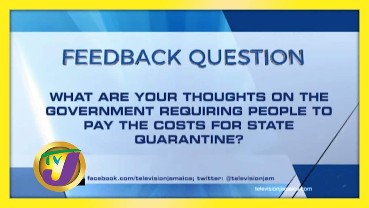 TVJ News: Feedback Question - February 9 2021 1