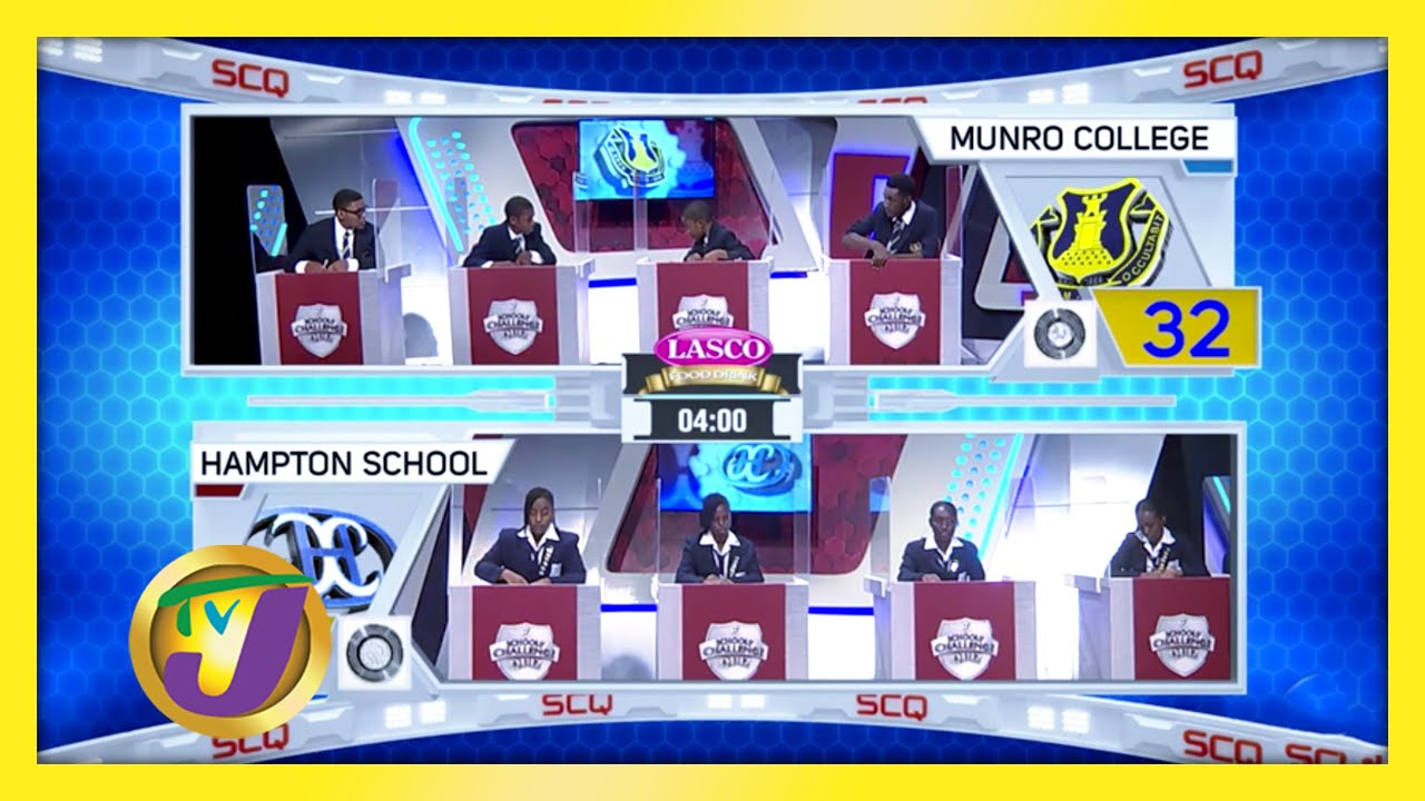 Munro College vs Hampton School: TVJ SCQ 2021 - February 9 2021 1