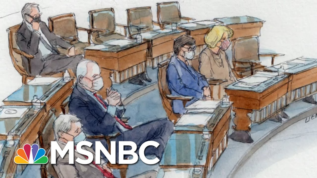 'Evidence Is Clear': Dems Say Trump 'Alone' Incited Capitol Mob | The Beat With Ari Melber | MSNBC 8