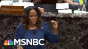 At Trump Trial For Riot, Dems Invoke Truth, Accountability, And Wu-Tang Wisdom | MSNBC 3