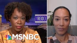 Joy Reid Debunks Claims By GOP Senator Comparing BLM Protests To Capitol Riot | The ReidOut | MSNBC 6