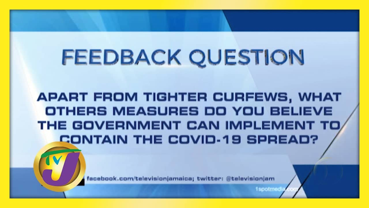 TVJ News: Feedback Question - February 10 2021 1