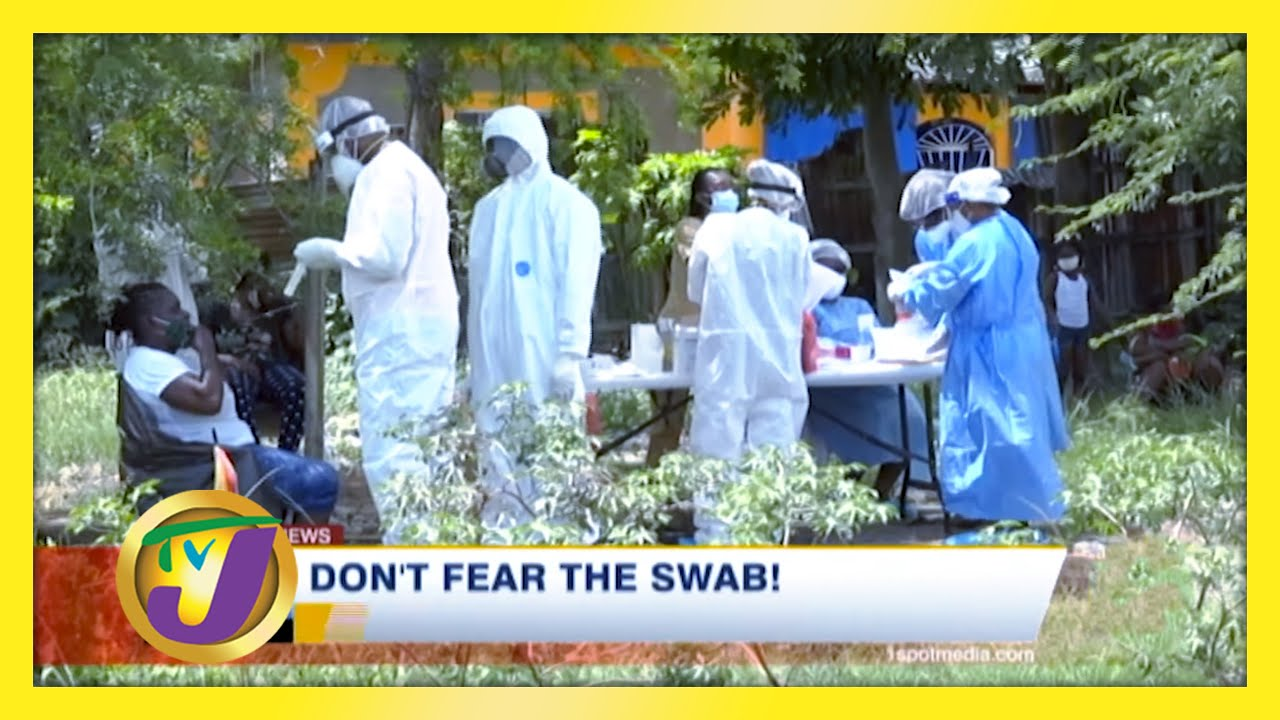 Don't Fear the Swab! - Health report - February 10 2021 1