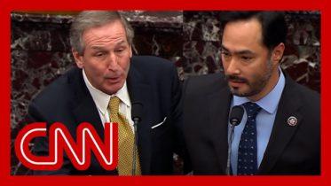 Senators ask impeachment lawyers what Trump did during riot 6