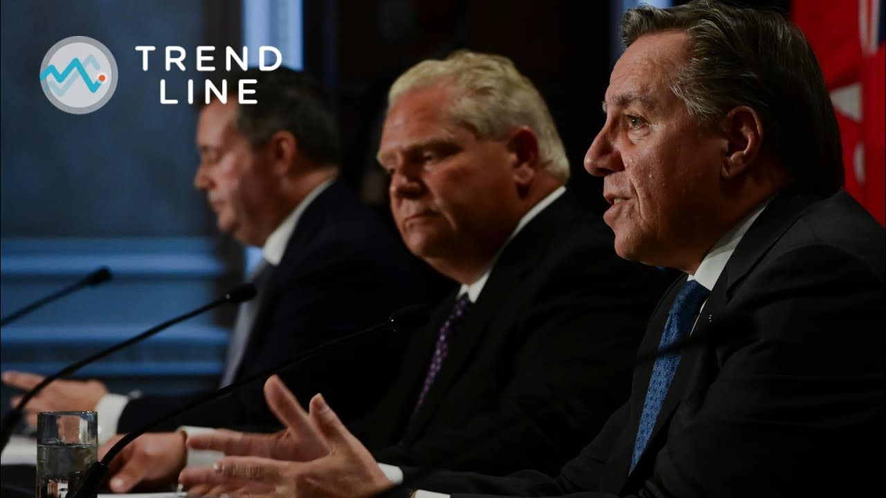 Which province is handling the COVID-19 pandemic best? | TREND LINE 1