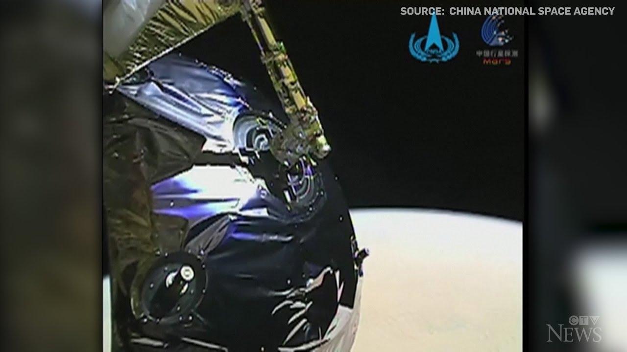 China releases video of spacecraft entering Mars' orbit 1