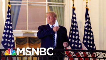 Trump Was A Lot Sicker With Covid Than We Knew NYT Reports   The 11th Hour   MSNBC 10
