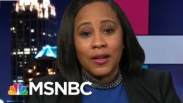 Prosecutor Investigating Trump Not Intimidated By His Supporters' Attacks | Rachel Maddow | MSNBC 7