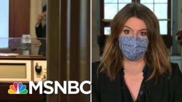 Some GOP Senators 'Worried' About Personal Safety If They Vote To Convict Trump | MTP Daily | MSNBC 6