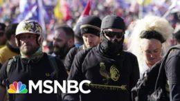 'This Is Dangerous': Violent Extremists Flock To Trump's Defense | The ReidOut | MSNBC 9