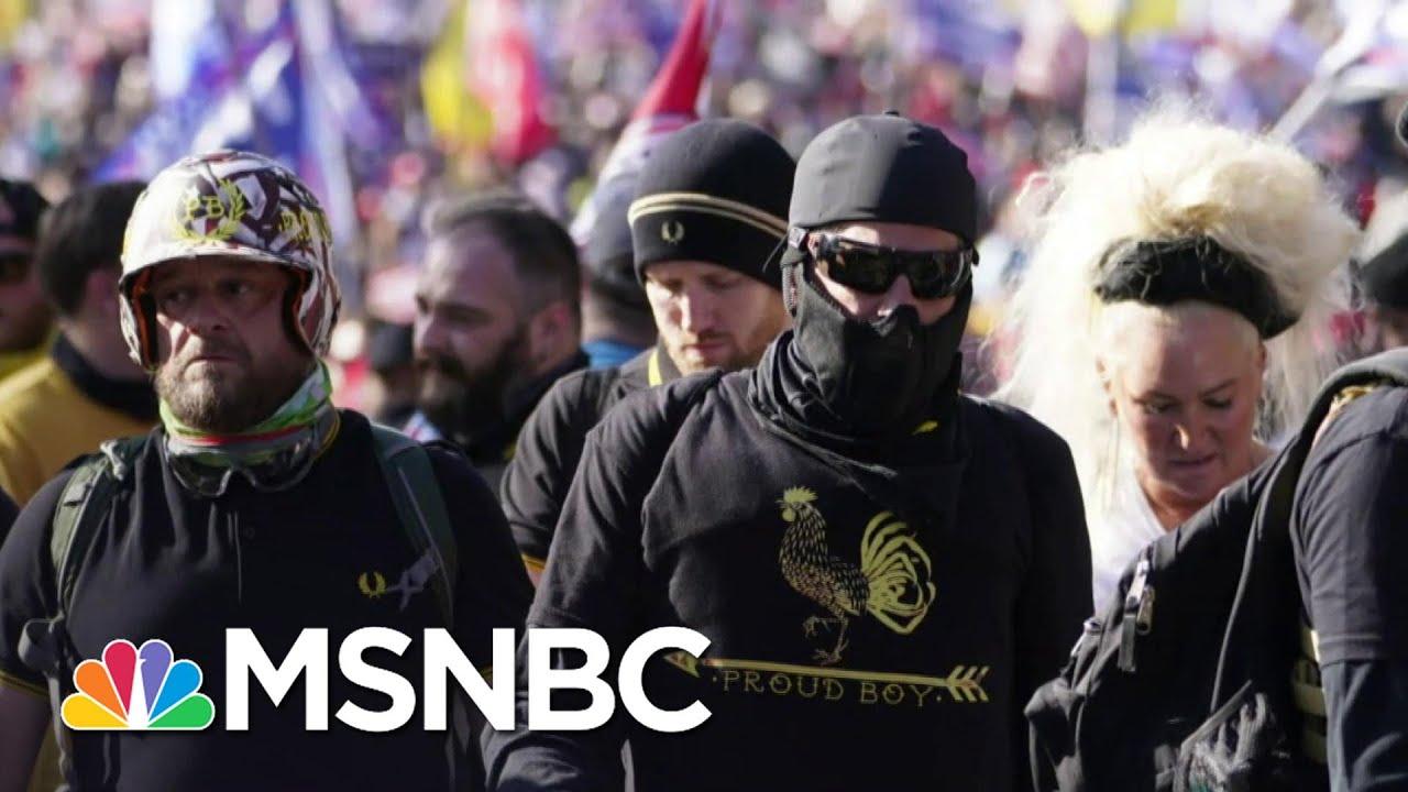 'This Is Dangerous': Violent Extremists Flock To Trump's Defense   The ReidOut   MSNBC 1