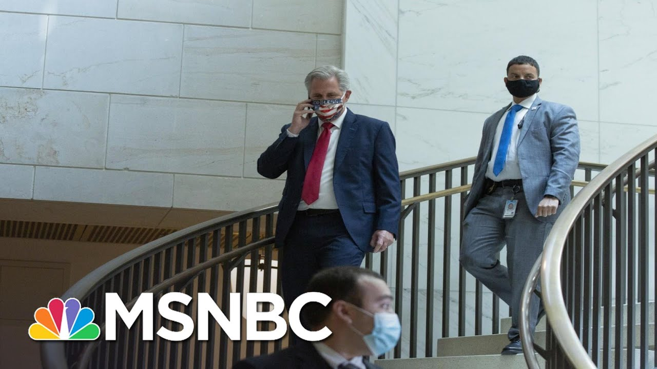 Trump Refused To Call Off Rioters During Kevin McCarthy Phone Call On Jan. 6 | All In | MSNBC 1