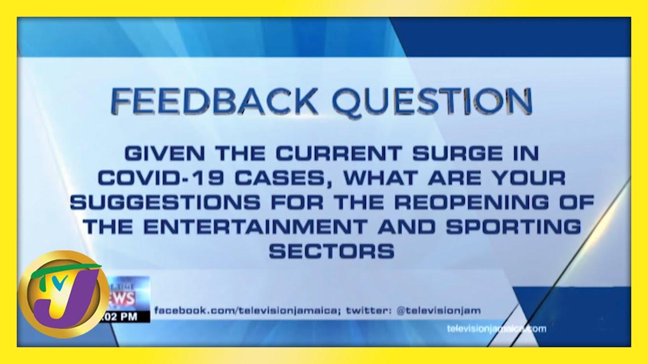 TVJ News: Feedback Question - February 11 2021 1
