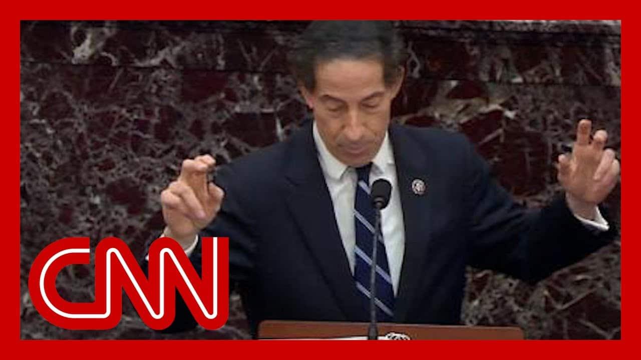 Raskin's closing argument urges Senate to convict Trump 1