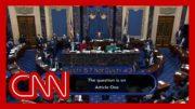 Watch the Senate vote on impeachment of Donald Trump 2