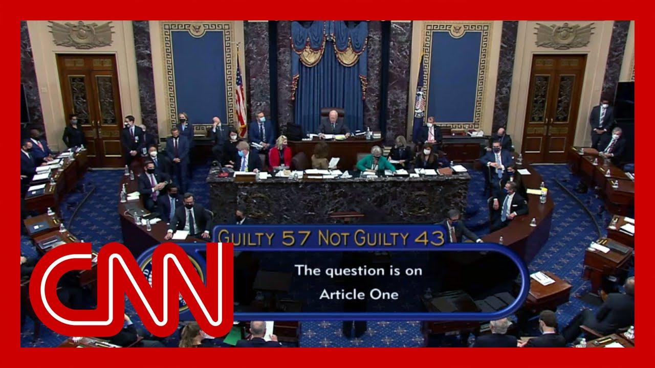Watch the Senate vote on impeachment of Donald Trump 8