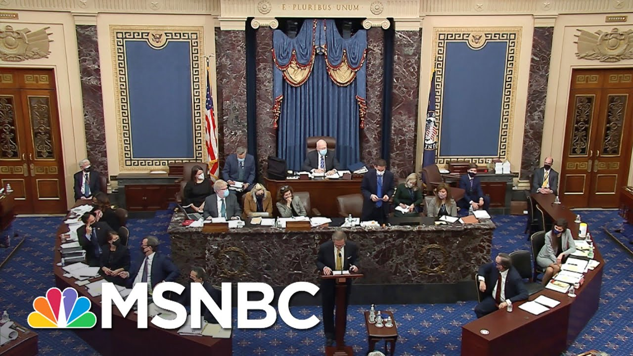 Chuck Rosenberg: Trump Impeachment Trial Isn't A Real Trial | The 11th Hour | MSNBC 4