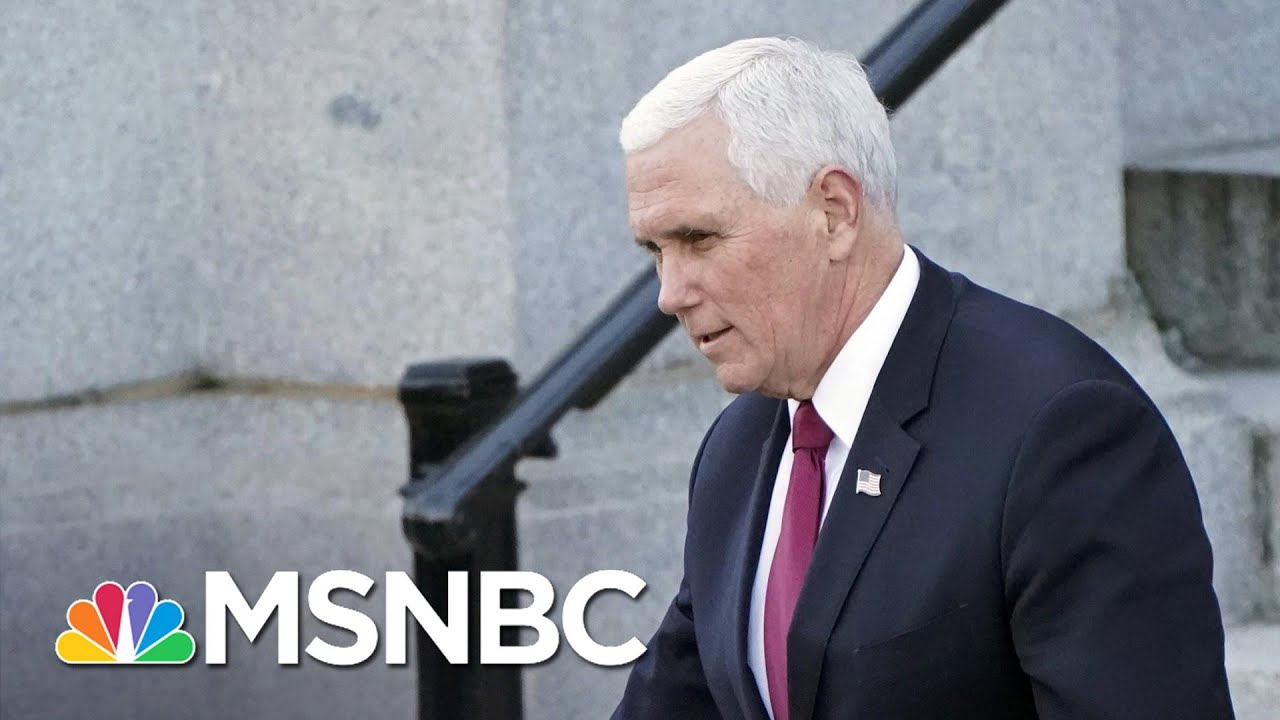 Trump Set Pence Up And Then Pointed Violent Mob At Him: Report | Rachel Maddow | MSNBC 7