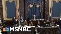 Second Trump Impeachment Tests GOP Senators' Loyalty To Mike Pence   Rachel Maddow   MSNBC 6