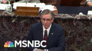 Trump Lawyers Mount 'Weird' Defense On Third Day Of Impeachment Trial | Rachel Maddow | MSNBC 5