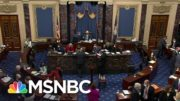 Senate Votes 55-45 To Begin Process For Calling Witnesses In Impeachment Trial | MSNBC 5