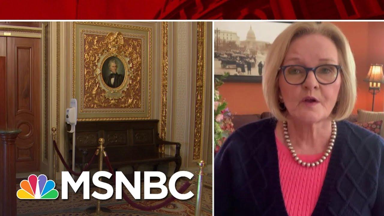 McCaskill: Senators Considering Stipulation To Enter Written Testimony Into Record   MSNBC 1