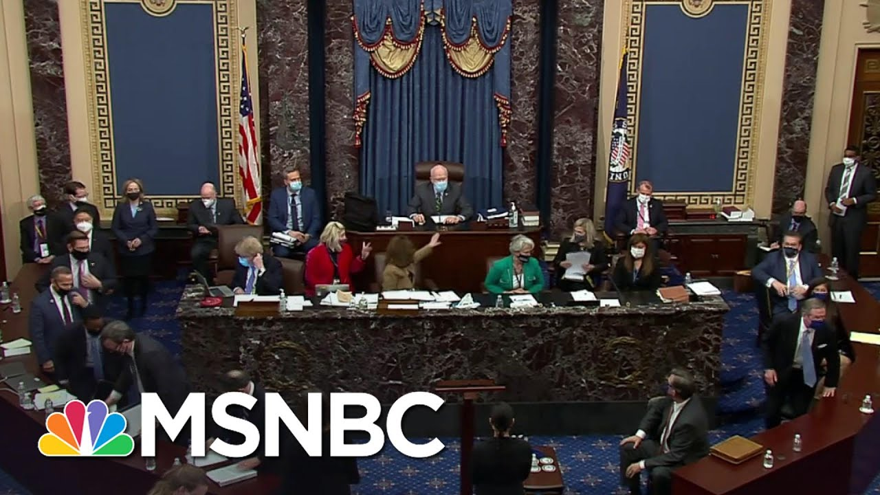 Senate Acquits Trump On Article of Impeachment For 'Incitement Of Insurrection' | MSNBC 1