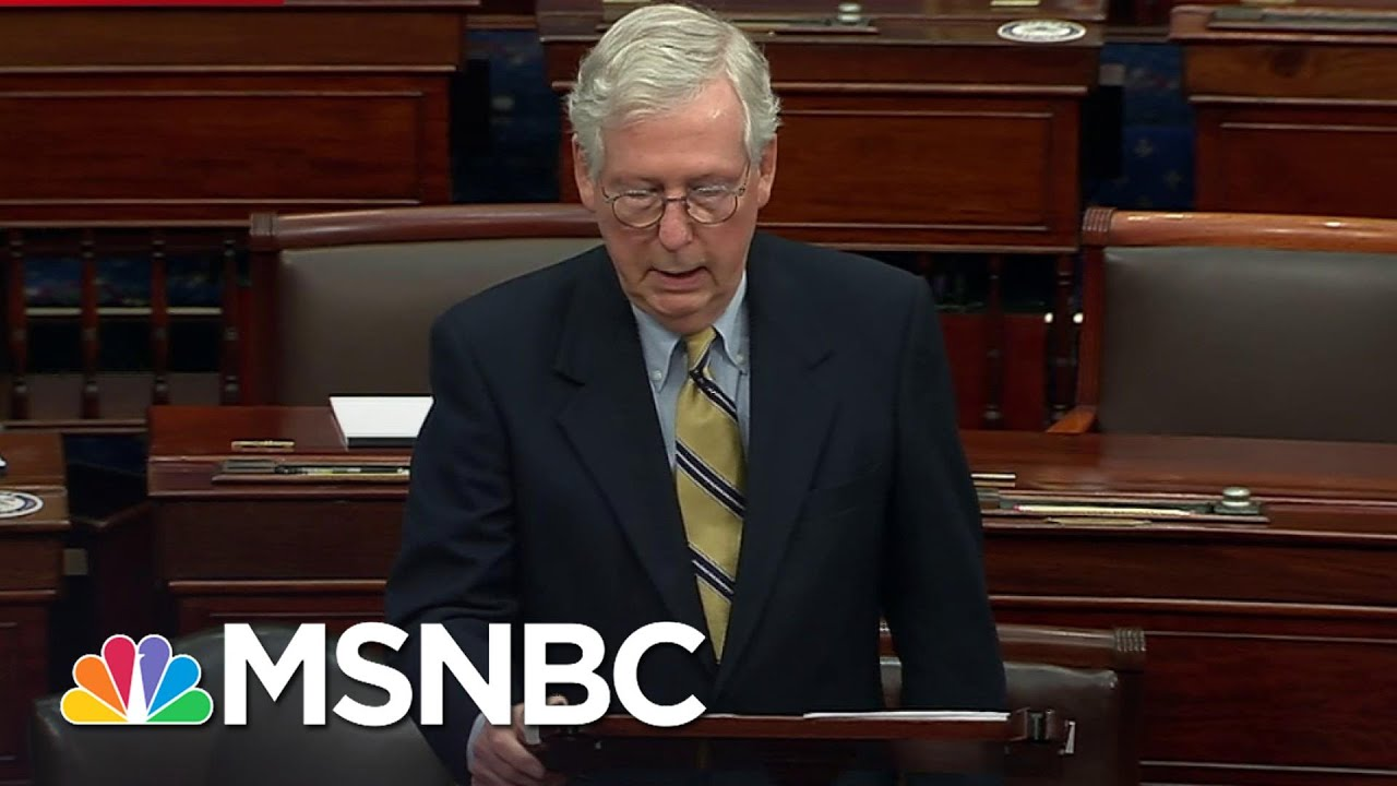McConnell Threw '...Fistfuls Of Dirt On The Political Grave of Donald Trump' Says Brian Williams 1