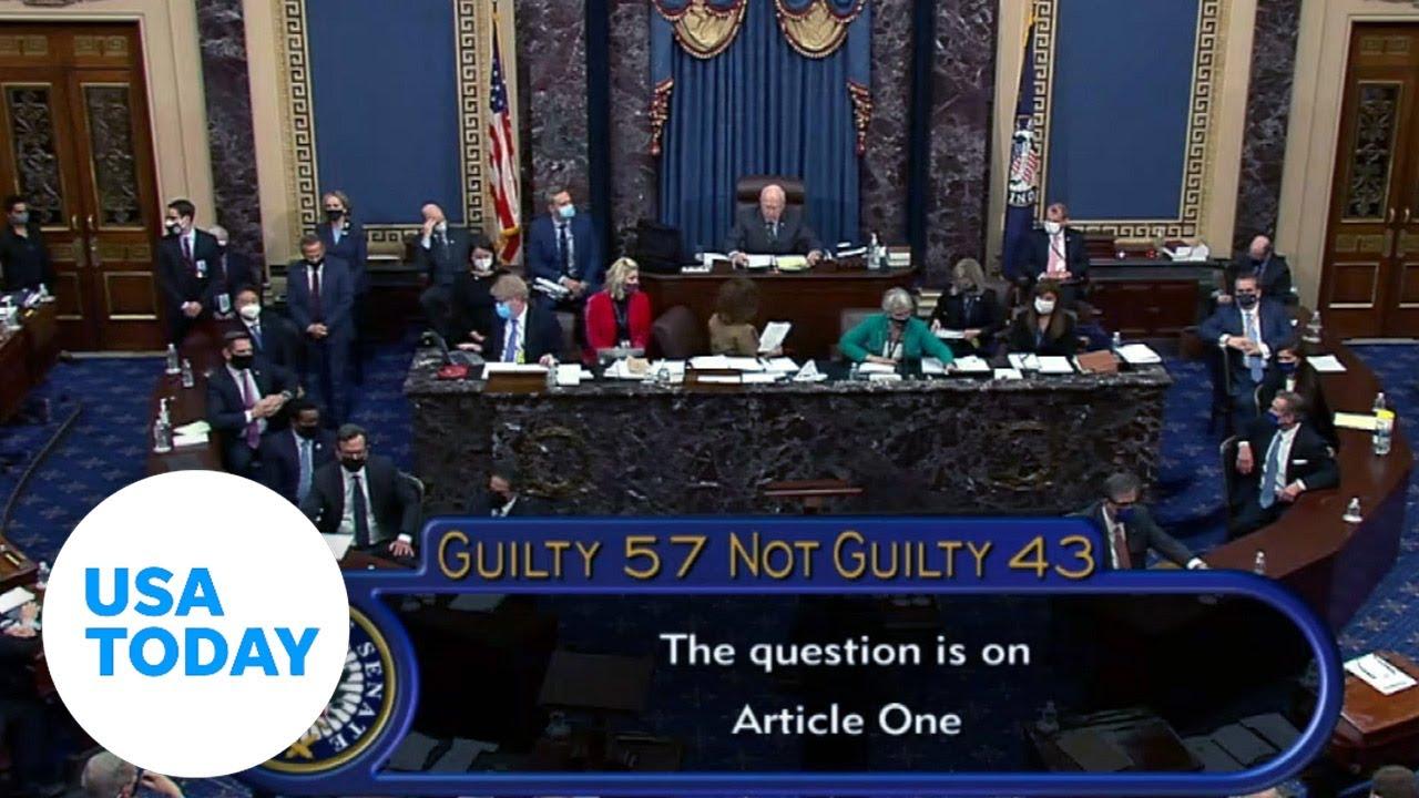 Trump impeachment trial vote acquits him in historic second impeachment proceeding | USA TODAY 6