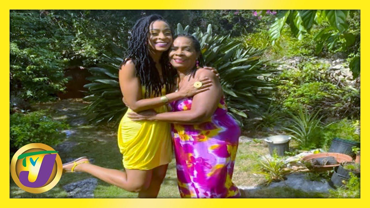Mother-Daughter Love, Alaine & Myrna Laughton: TVJ Smile Jamaica - February 12 2021 1