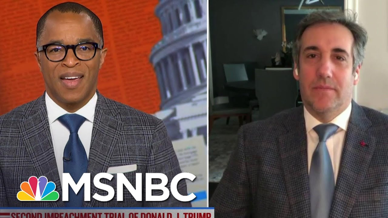 Fmr. Trump Attorney Cohen Wants Next AG To Ensure Trump Faces NY State Charges | MSNBC 1