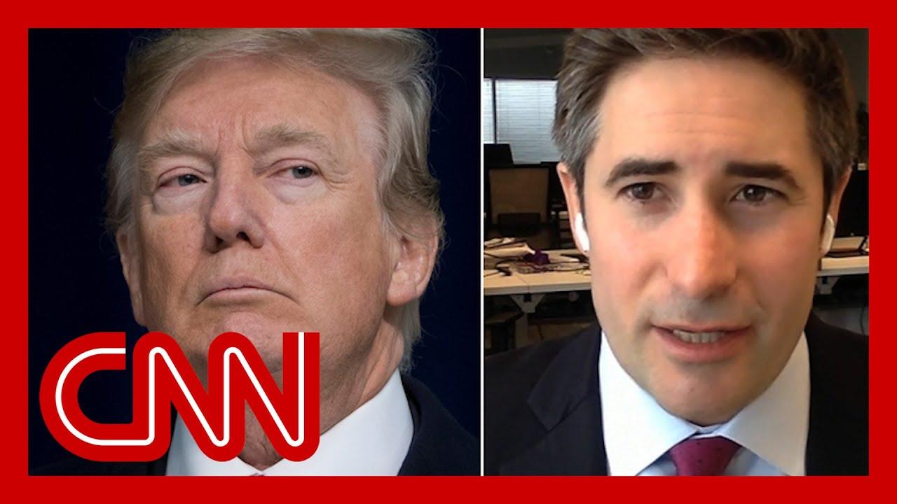 'Tirades of profanity': Axios reporter describes Trump meeting 9