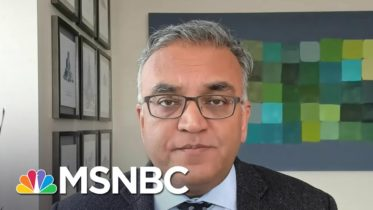 Dr. Ashish Jha: UK Variant Will Become 'Dominant' By Mid To Late March | Andrea Mitchell | MSNBC 6