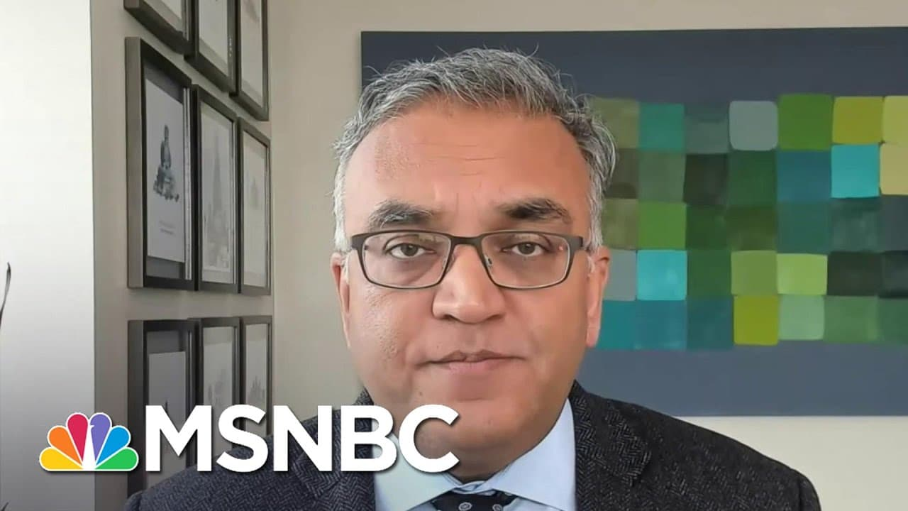Dr. Ashish Jha: UK Variant Will Become 'Dominant' By Mid To Late March | Andrea Mitchell | MSNBC 1