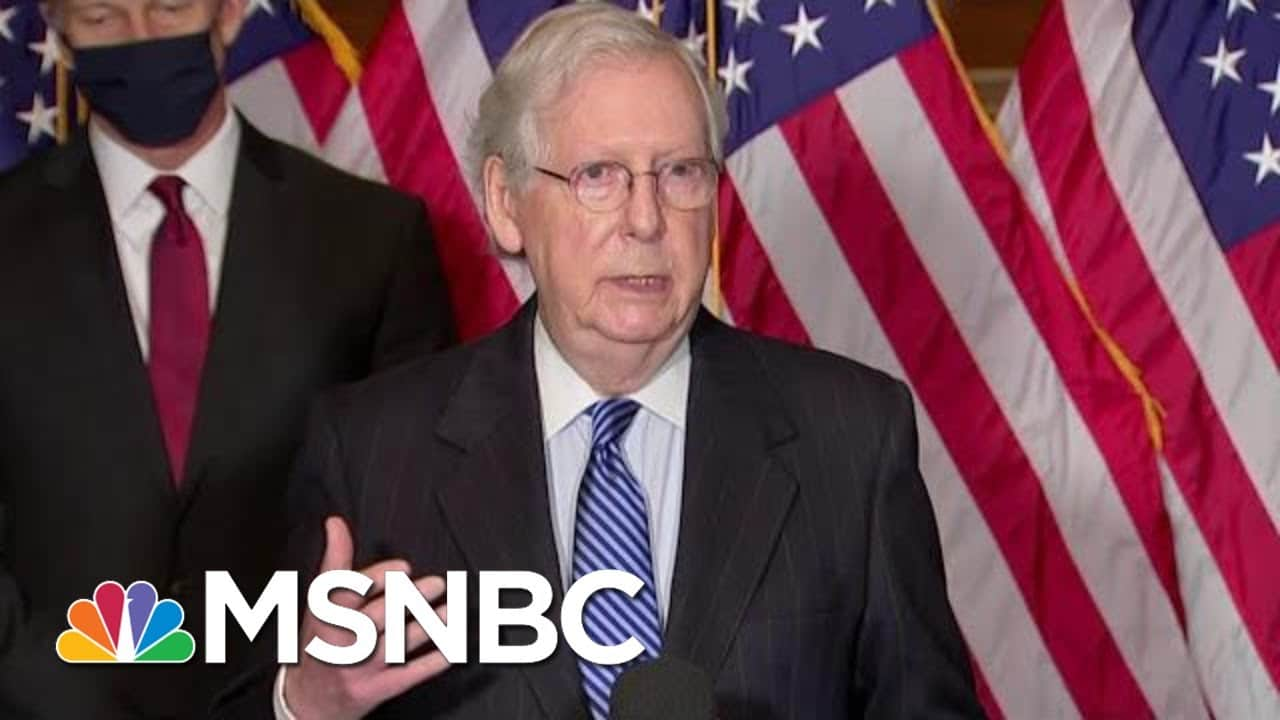 McConnell Grapples With How To Move Forward After Trump Impeachment Trial | MTP Daily | MSNBC 1