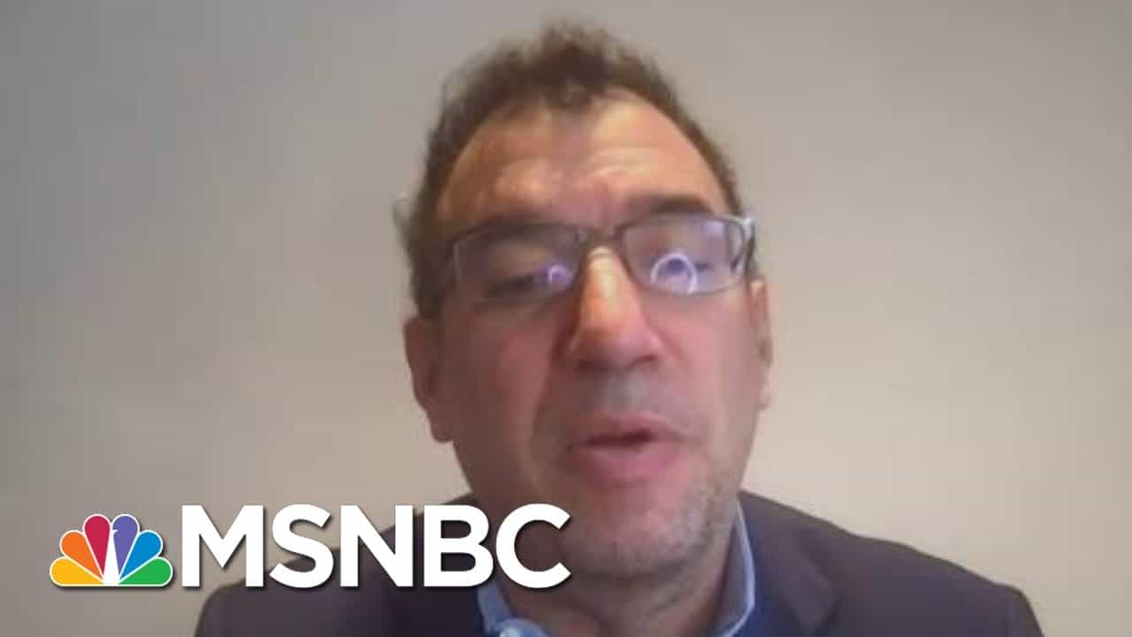 WH Sr. Advisor For COVID Response Team: Cases Drop 'Could Be Misleading' | Hallie Jackson | MSNBC 1