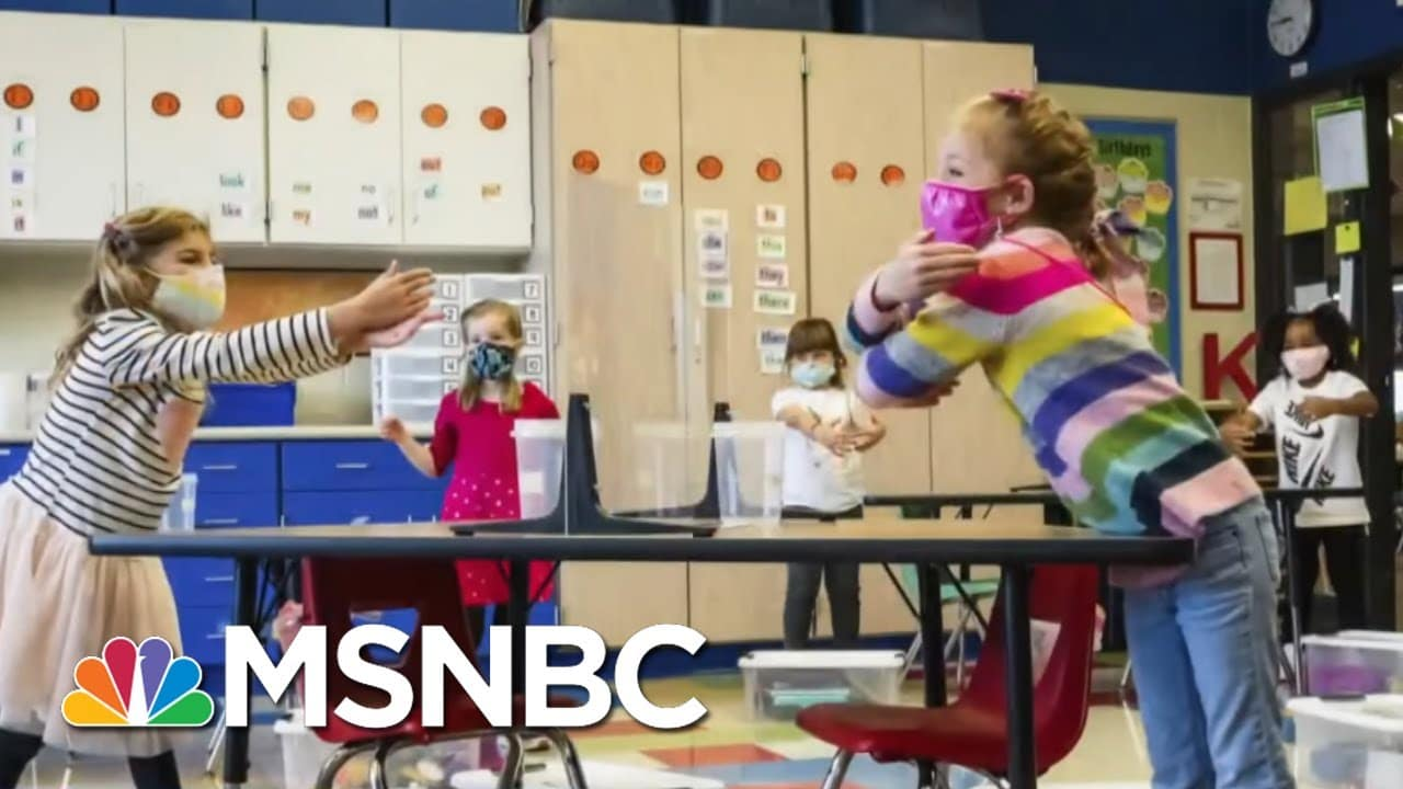 What Will It Look Like To Reopen America's Schools?   Katy Tur   MSNBC 1